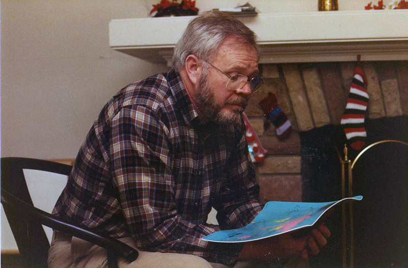 Reading at Christmas - year unknown