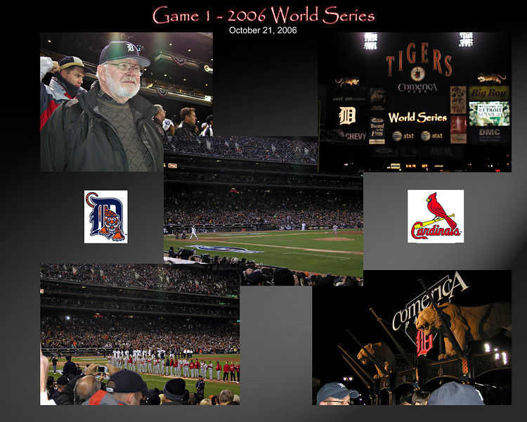 World Series - Game 1, Oct 2006