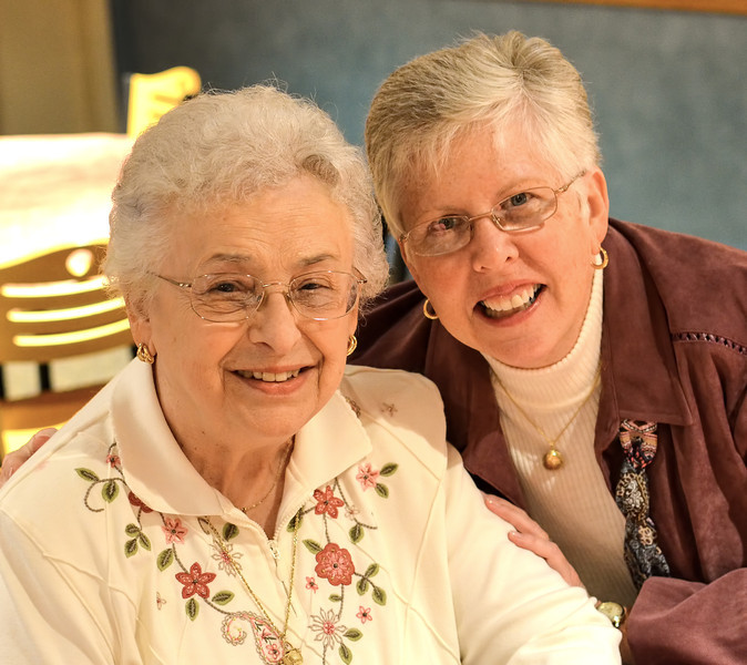 Mom (Claire) and Linda Mayers (my significant other)