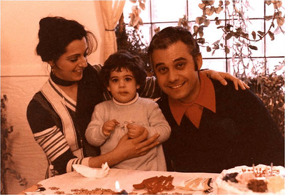Laila and Abe Assily help firstborn daughter Lani celebrate her third birthday in 1978.