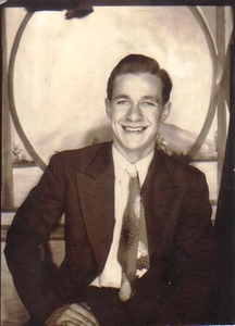 Amos Campbell in the mid-1940s, when he was around 20.