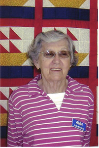 Ann Brand, North Ridgeville Senior Center volunteer.