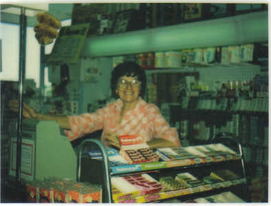 Ann Brand was working part time at Discount Drug Mart in Westlake when this photo was taken in 1978. She also drove an Avon school bus at that time.
