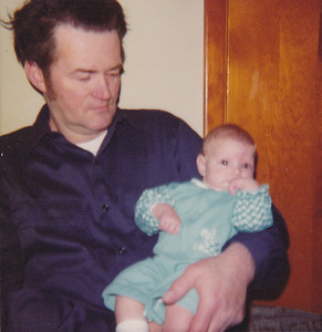 Avery Wilcox Sr. and his granddaughter Melissa Ziogas in the spring of 1976. (Photo courtesy of the family.)