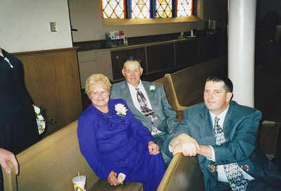The Wilcoxes: From the left, Betty, Avery Sr. and Avery II, Oct. 17, 1998.(Photo courtesy of the family.)