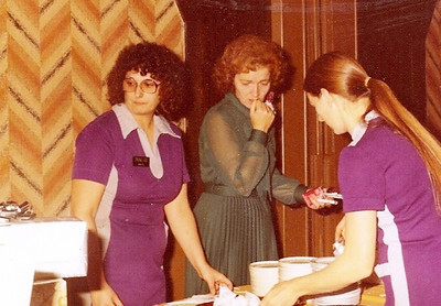 Barbara Baldwin, who managed gas stations for Standard Oil of Ohio (Sohio) which became BP, couldn't help scrutinizing the food and the servers at her son Rick's wedding reception in 1980.