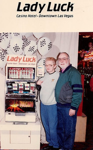 Barb and Dick Baldwin made one or two trips per year to Las Vegas.
