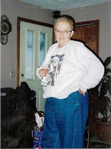Barb Baldwin at Christmas 2007.
