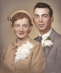 Barb and Dick Baldwin were married May 3,1958, in Boardman, Ohio.