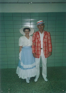 Polly and Charlie Kurtz danced for audiences at nursing homes and festivals in the 1990s.