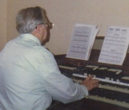 Not only could Clarence Talcott play guitar, he played piano and organ as well. (Photo courtesy of the family.)
