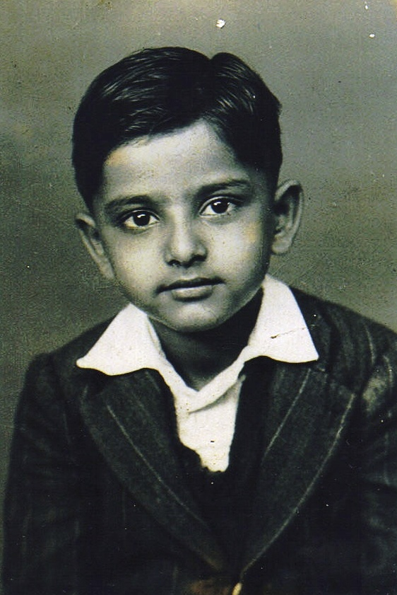 Passport photo of D.C. Patel from the early 1950s.