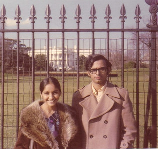 Minal and D.C. Patel visited Washington, D.C., in 1975.