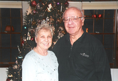 Lois and Dale Meredith at Christmas 2008. (Photo courtesy of the family.)