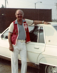 Dale Meredith, wearing his Lorain Lions Club uniform in the 1980s. (Photo courtesy of the family.)