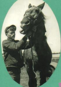 Damon Hill, horseman.(Photo courtesy of the family.)