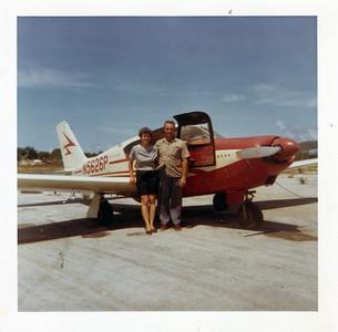 Veronica and Dan Brattoli flew to the Bahamas. (Photo courtesy of the family.)