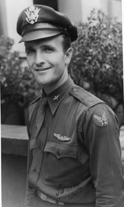 Dan Brattoli, pictured in 1948, served with the Army Officers Reserve Corps after the end of World War II. (Photo courtesy of the family.)
