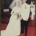 Dixie and Jim Slaughenhaupt on their wedding day, June 12, 1965.