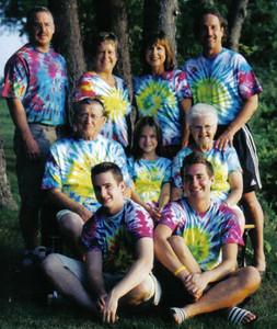 The Kaminski clan often vacationed at Kelleys Island. (Photo courtesy of the family.)