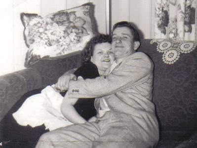 Eleanor Malinowski and Steve Kaminski became engaged on Christmas 1952. (Photo courtesy of the family.)