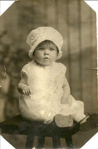 Eleanor Malinowski, age 1, in 1927. (Photo courtesy of the family.)