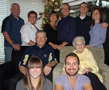 Kaminski family portrait, Thanksgiving 2011. (Photo courtesy of the family.)