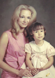 "Elsie Danevich had this photo taken with her daughter, Lisa, for her husband, Bruce. ""It sat on his desk for years at Sears in Elyria, where he was credit manager and customer service manager,"" their daughter, Lisa, said."