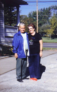 Oris and Eva Mae Pugh at their home on West Erie Ave. in Lorain. They had been married for 40 years when Oris died in August 1986 at the age of 65.