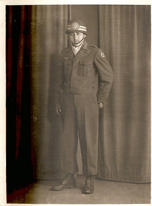 Pete Flores served with 37th Constabulary Squadron in Stuttgart, Germany, Paris and the Philippine Islands during World War II. (Photo courtesy of the family.)
