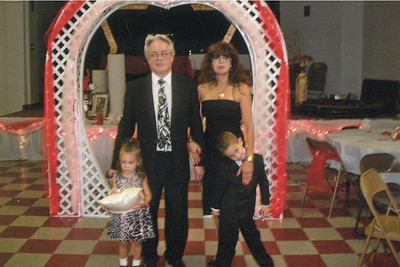 Fred and Iris Morales with their grandchildren, Lainey and Gage Reynolds. (Photo courtesy of the family.)