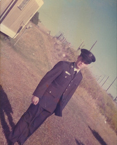 Fred Morales joined the Air Force in 1975 and went through basic training at Lackland Air Force Base in Texas. (Photo courtesy of the family.)
