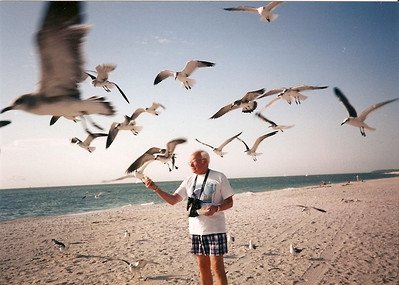 George Hoover vacationed every year at Captiva Island, Fla., for more than 30 years. (Photo courtesy of the family.)