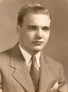 George Hoover, probably in the late 1930s. (Photo courtesy of the family.)