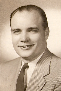 George Hoover, probably in the 1950s. (Photo courtesy of the family.)