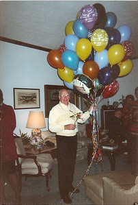 George Hoover on his 80th birthday. (Photo courtesy of the family.)