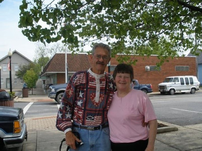 Harris Opfer and his wife, Barbara. (Photo courtesy of the family.)