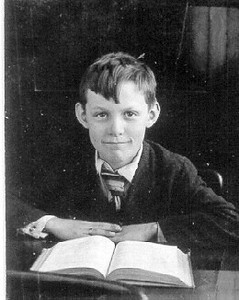 Henry Schriver, pictured here as a school boy, graduated from Belden High School in 1932, became a member of the Belden School Board in the 1940s and helped orchestrate the formation of the Midview School District in the 1950s. (Photo courtesy of the family.)