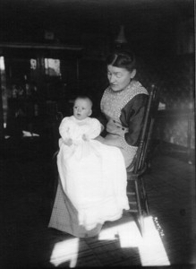 Baby Henry Schriver at 14 weeks of age with his mother, Sarah. (Photo courtesy of the family.)