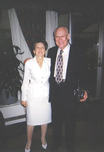 Aileen and Herman Frankel were honored by Temple B'nai Abraham, Elyria, in 2009 for their membership and service.