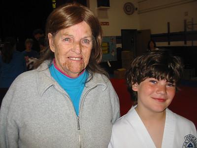 Jeanne Krenek with grandson Brandon. (Photo courtesy of the family.)