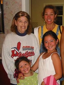 Jeanne Krenek, daughter Jill and two granddaughters. (Photo courtesy of the family.)