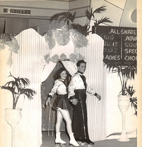 Jeanne Doyle and her partner Bob Dancik competed in couples/pairs dancing. (Photo courtesy of the family.)