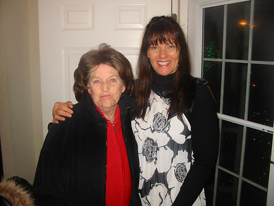 Jeanne Krenek with daughter Jacqui Ladikos. (Photo courtesy of the family.)