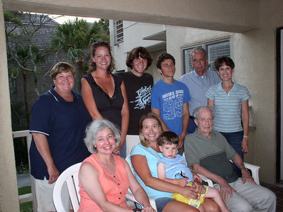 Another 2006 family reunion photo with Jim White standing second from the right. (Photo courtesy of the family.)