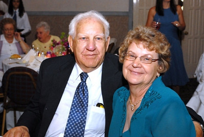 Paul Dulemba and Joan Park bowled in leagues at Rebman Recreation Center for years. They became companions after her husband died in 2000.(Photo courtesy of the Park family.)