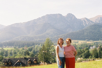Denise Nail and her mother, Joan Park, visited Zakopane, Poland, on a just-the-two-of--us-girls trip to Europe. (Photo courtesy of the Park family.)