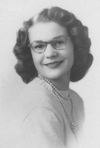 Joan Gambis, shown in her senior picture from Amherst High School. (Photo courtesy of the Park family.)