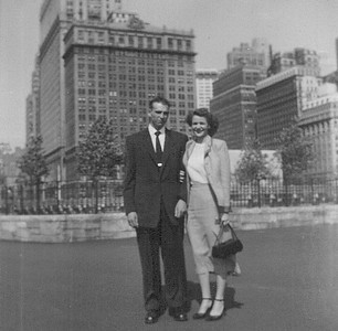 James and Joan Park in the 1950s or '60s. (Photo courtesy of the Park family.)