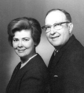 Lenore Eastin and her first husband, Bill Eastin, in 1969.